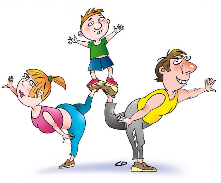 Папа, мама, я — спортивная семья